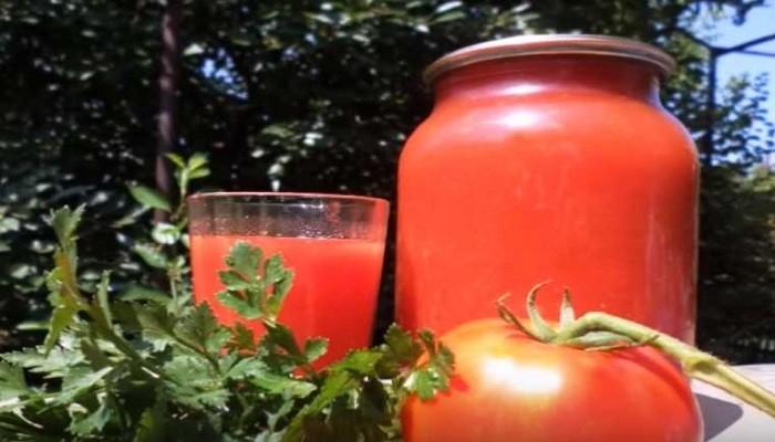 Готовим томатный сок на зиму без стерилизации