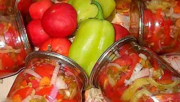 Салат из помидор на зиму пальчики оближешь без стерилизации