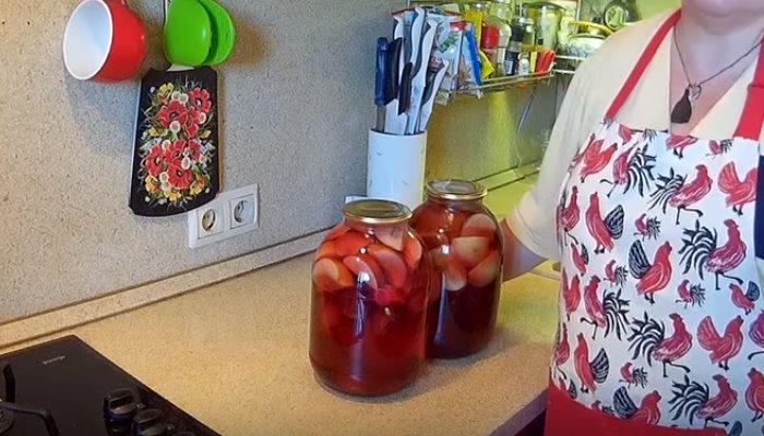 Компот ассорти на зиму из фруктов и ягод — вкуснейшие рецепты на 3 литровую банку