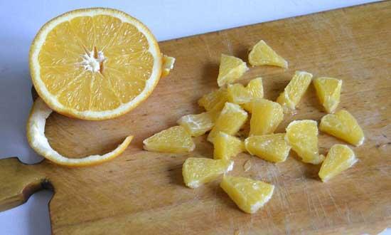 Режем апельсин
