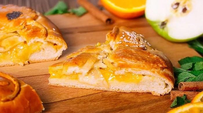 Пышная шарлотка с яблоками и апельсинами — готовим по классическим рецептам