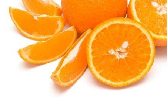 Режем апельсин на дольки