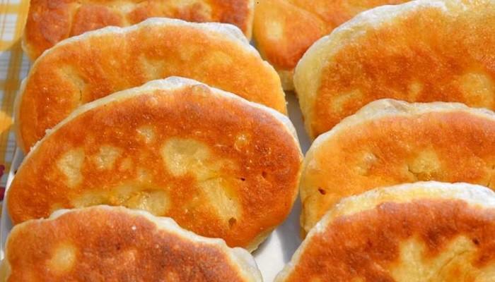 Тесто для жареных пирожков на дрожжах и кислом молоке