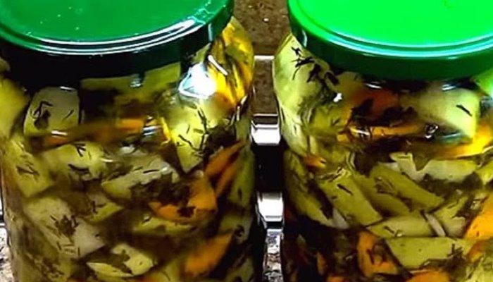 Суперские кабачки на зиму как грибы