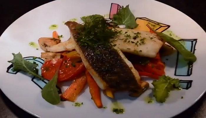 Легкий рецепт овощного гарнира к рыбе
