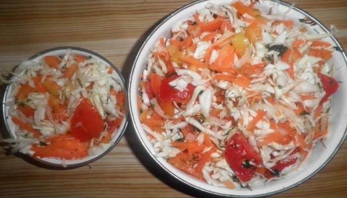 Овощной салат «Бум»