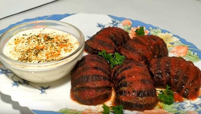 Самый простой и вкусный рецепт баклажан с фаршем, запеченных в духовке