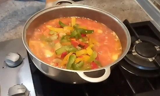 Добавляем болгарский перец