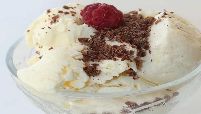 Мороженое из молока без сливок