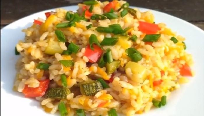 Гарнир из риса к мясным котлетам