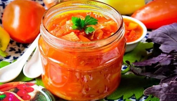 Лечо из перца с томатной пастой на зиму – Пальчики оближешь