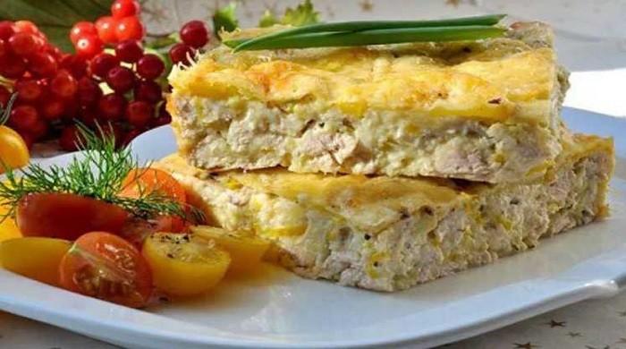 Запеканка с кабачком и курицей — домашние, вкусные рецепты для духовки