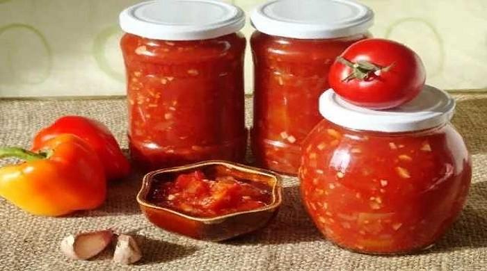 Лечо из болгарского перца с томатной пастой на зиму без стерилизации, пальчики оближешь