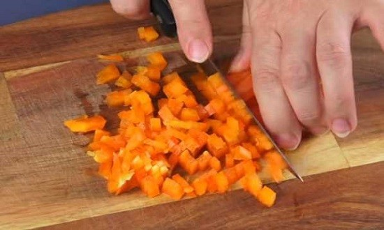 режем перец