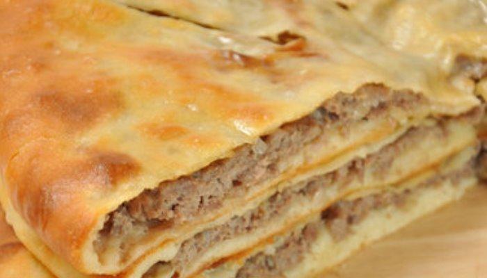 Фыдджин (осетинский пирог с мясом)