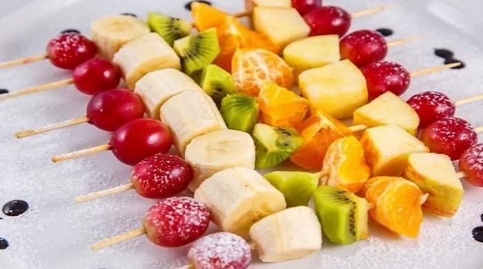 Канапе из фруктов на шпажках для фуршета — самые простые рецепты с фотографиями