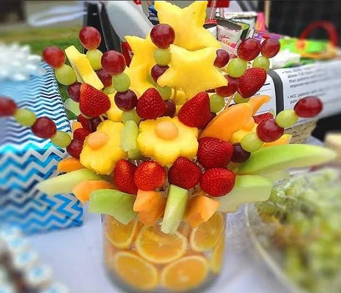Канапе из фруктов рецепты с фото имени парвин