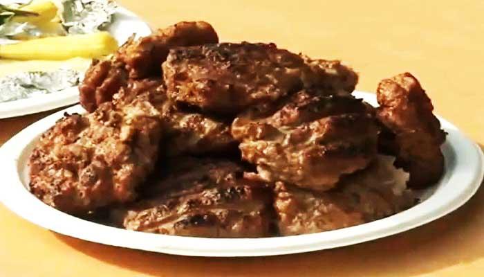 Рубленный бифштекс из свинины