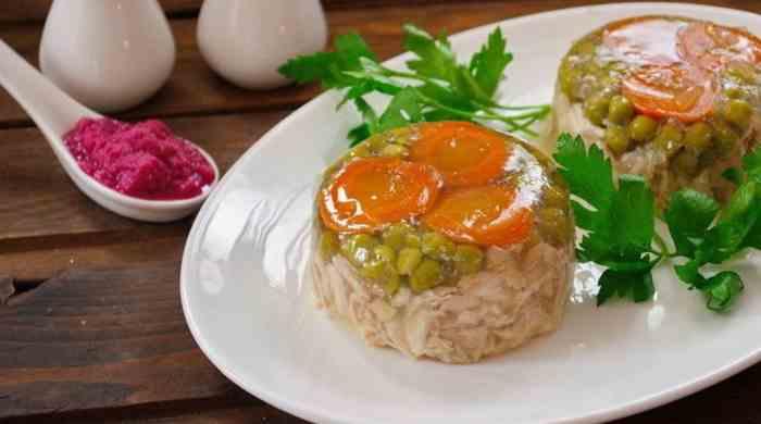 Варим вкусный холодец из курицы на Новый Год — рецепты приготовления домашнего холодца