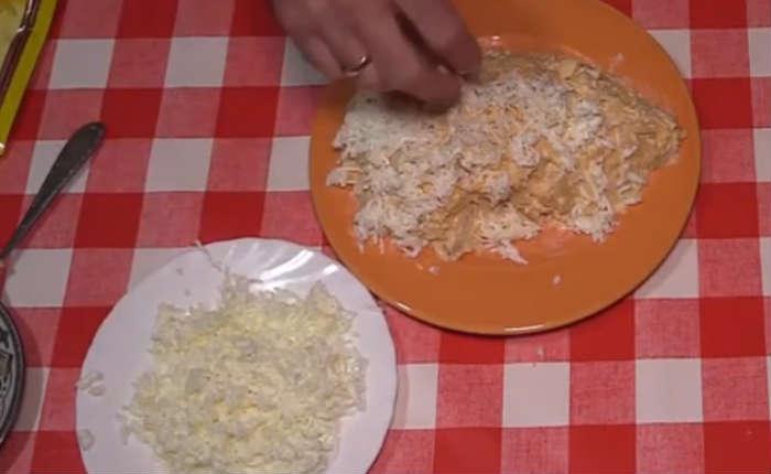 формируем салат