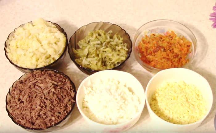 приготовленные продукты