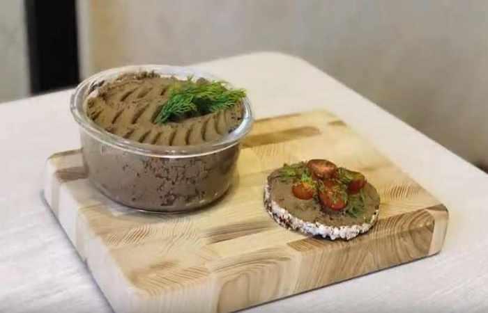 ПП рецепт куриного печёночного паштета