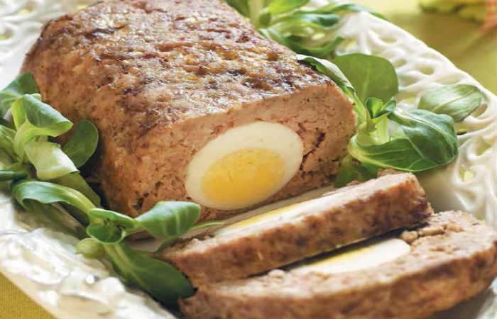Куриный печёночный паштет с яйцом