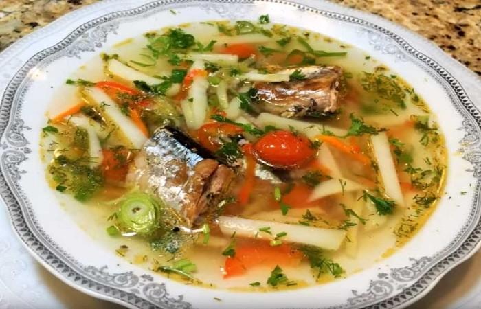 Суп из консервированной сайры — рецепты приготовления вкусного рыбного супа с картошкой