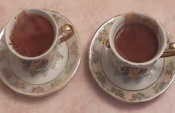 какао в кружках