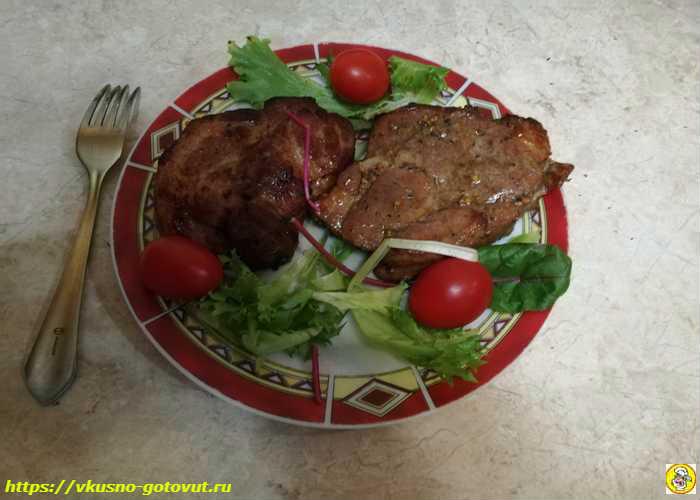 Свинина, запечённая в духовке