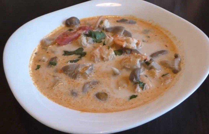 простой суп том ям с пастой
