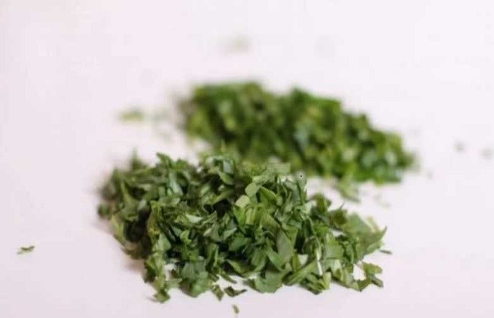 нарезанная зелень