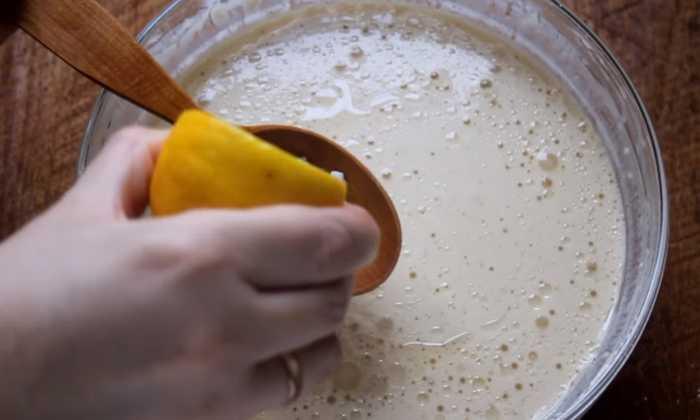 гасим соду лимонным соком
