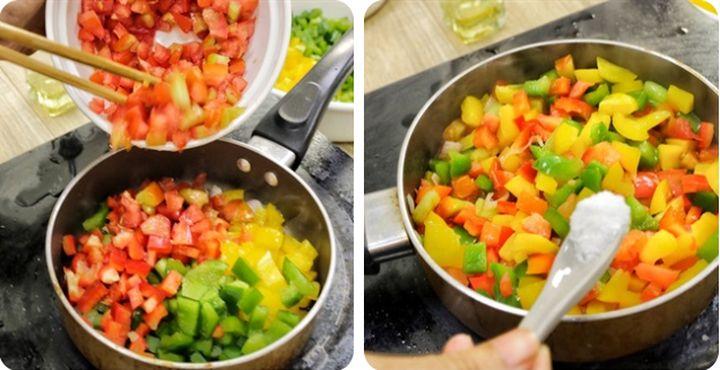добавляем помидоры