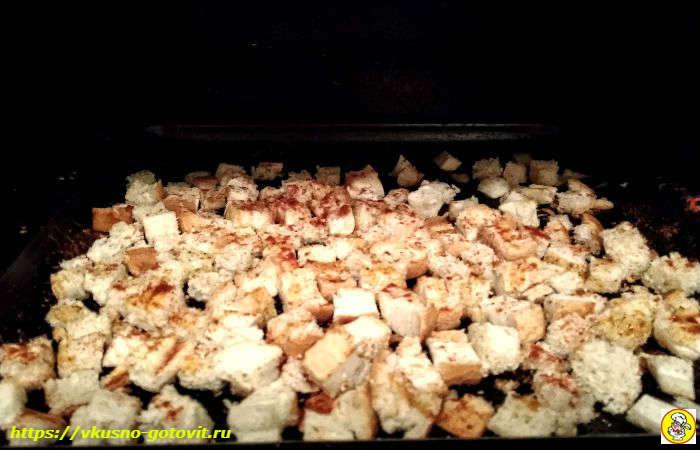 готовим сухари