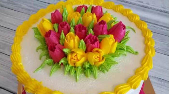 Торт на 8 марта своими руками для начинающих — рецепты простые и вкусные