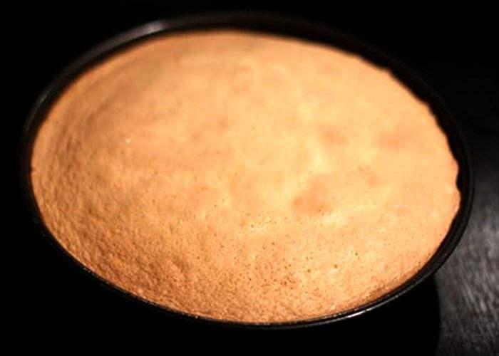 выпекаем бисквит