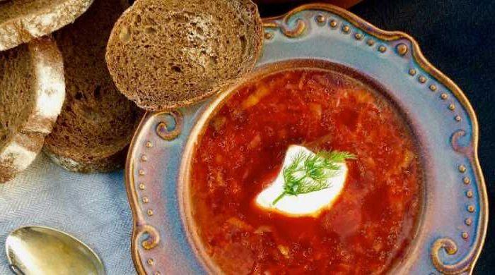 Бесподобно вкусный борщ с мясом — рецепт приготовления в домашних условиях