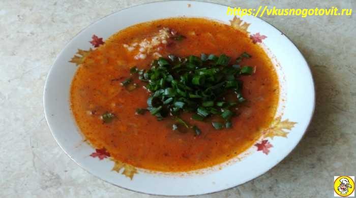 Рассольник — классический рецепт с перловкой и солеными огурцами