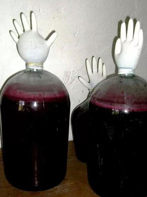 Вино из черноплодной рябины в домашних условиях — простые рецепты