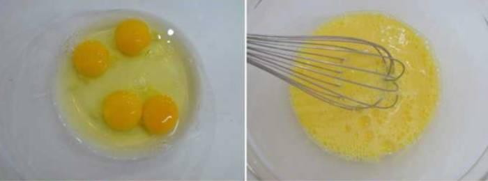 взбиваем яйца