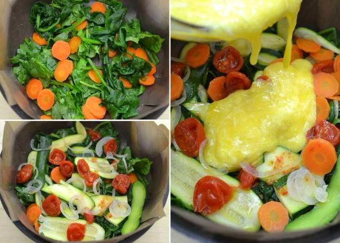 Омлет в духовке с сыром, простые и вкусные рецепты с фото