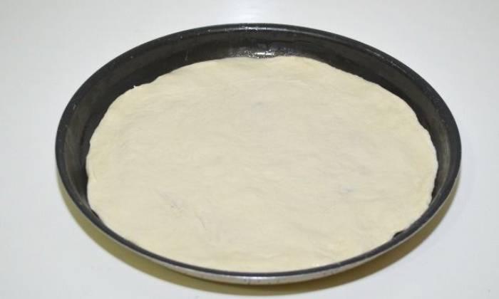 раскатанное тесто