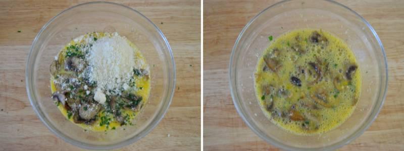 Омлет с сыром на сковороде —  7 пошаговых рецептов с добавками с фотографиями