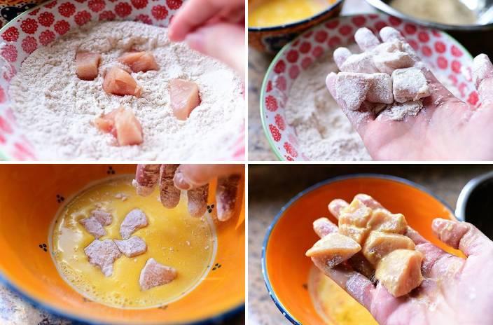 Наггетсы куриные в домашних условиях на сковороде в панировке