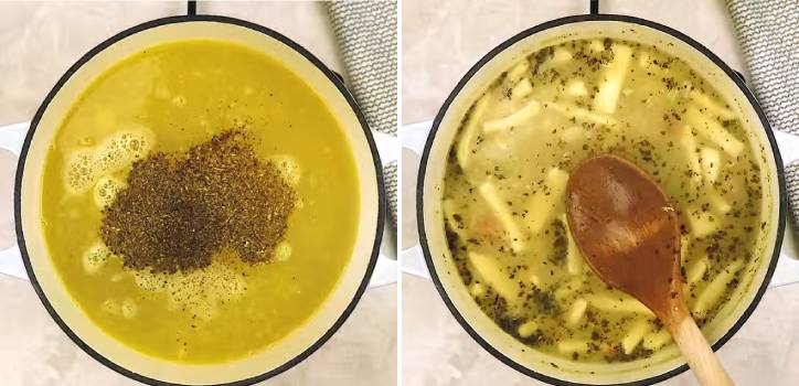 Суп с домашней лапшой и курицей — самый вкусный пошаговый рецепт